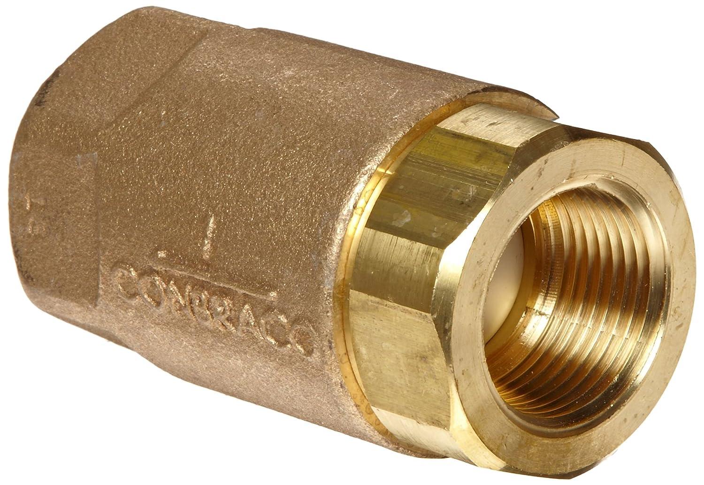 Apollo Valves 1//2 inch Threaded Bronze Spring Check Valve 6110301