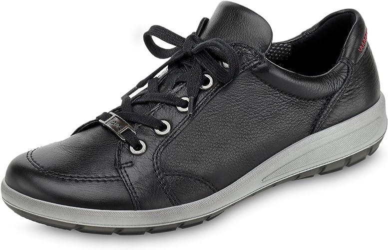 ARA 12 48951 06 Tokio Damen Sportiver Schnürschuh aus Glattleder Wechselfußbett