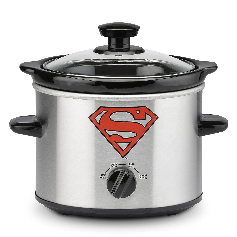 DC Batman 2-Quart Slow Cooker Select Brands Inc. DCB-200CN