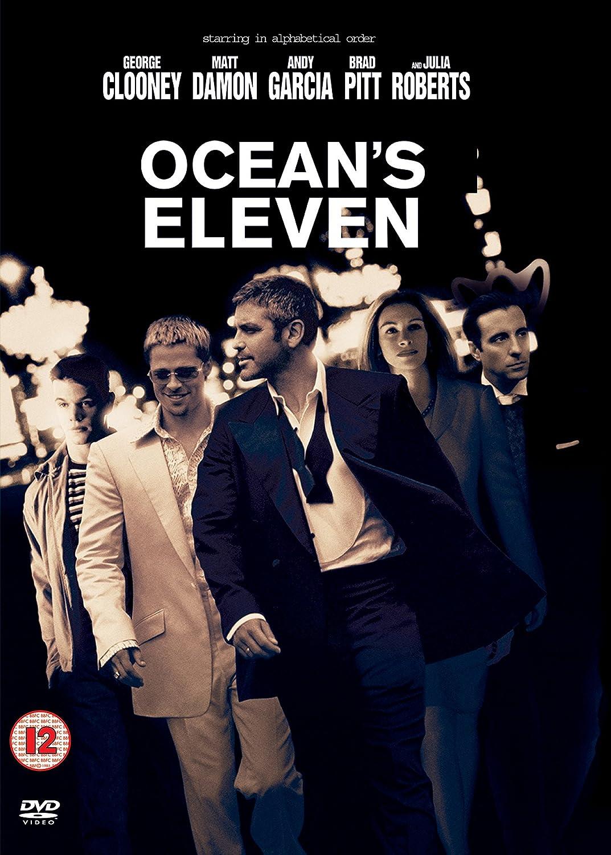 Oceans Eleven [Import anglais] [Reino Unido] [DVD]: Amazon.es: George Clooney, Brad Pitt, Julia Roberts, Matt Damon, Cecelia Ann Birt, Paul L. Nolan, Carol Florence, Lori Galinski, Bernie Mac, Mark Gantt, Tim Perez,