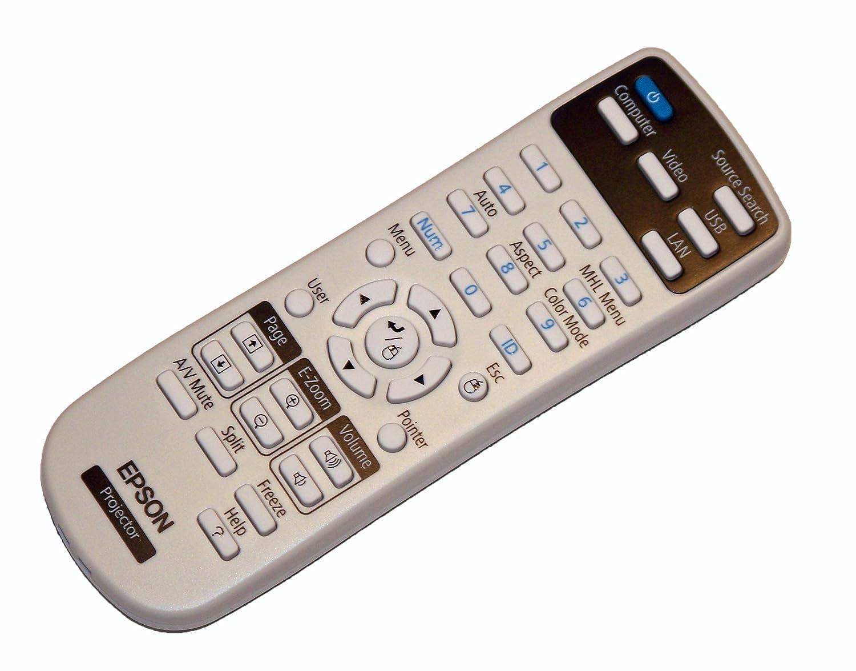 Epson Projector Remote Control: PowerLite 1263W, EX7230, EB-W28