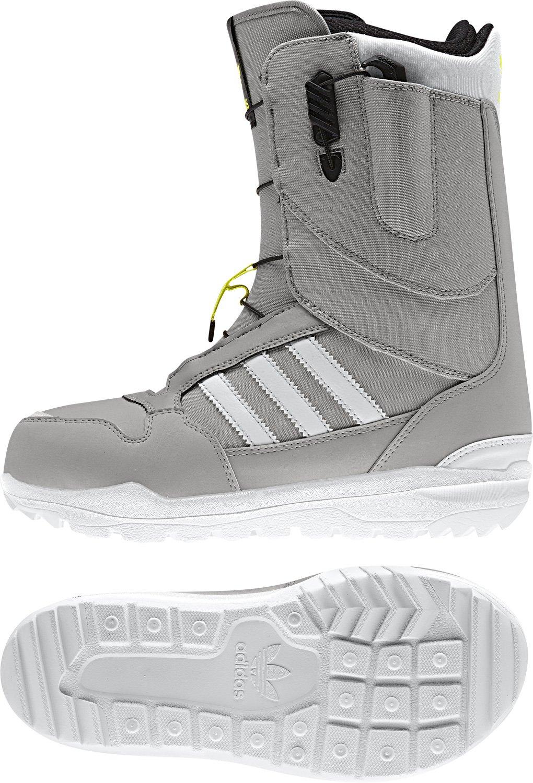 ecc1b94e6 Adidas ZX 500 Snowboard Boot - Men s MGH Sold Footwear White Solar Yellow