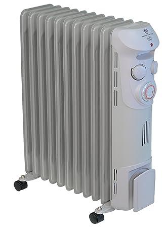 Radiador de baño 2.5 kW 11 elementos con programador