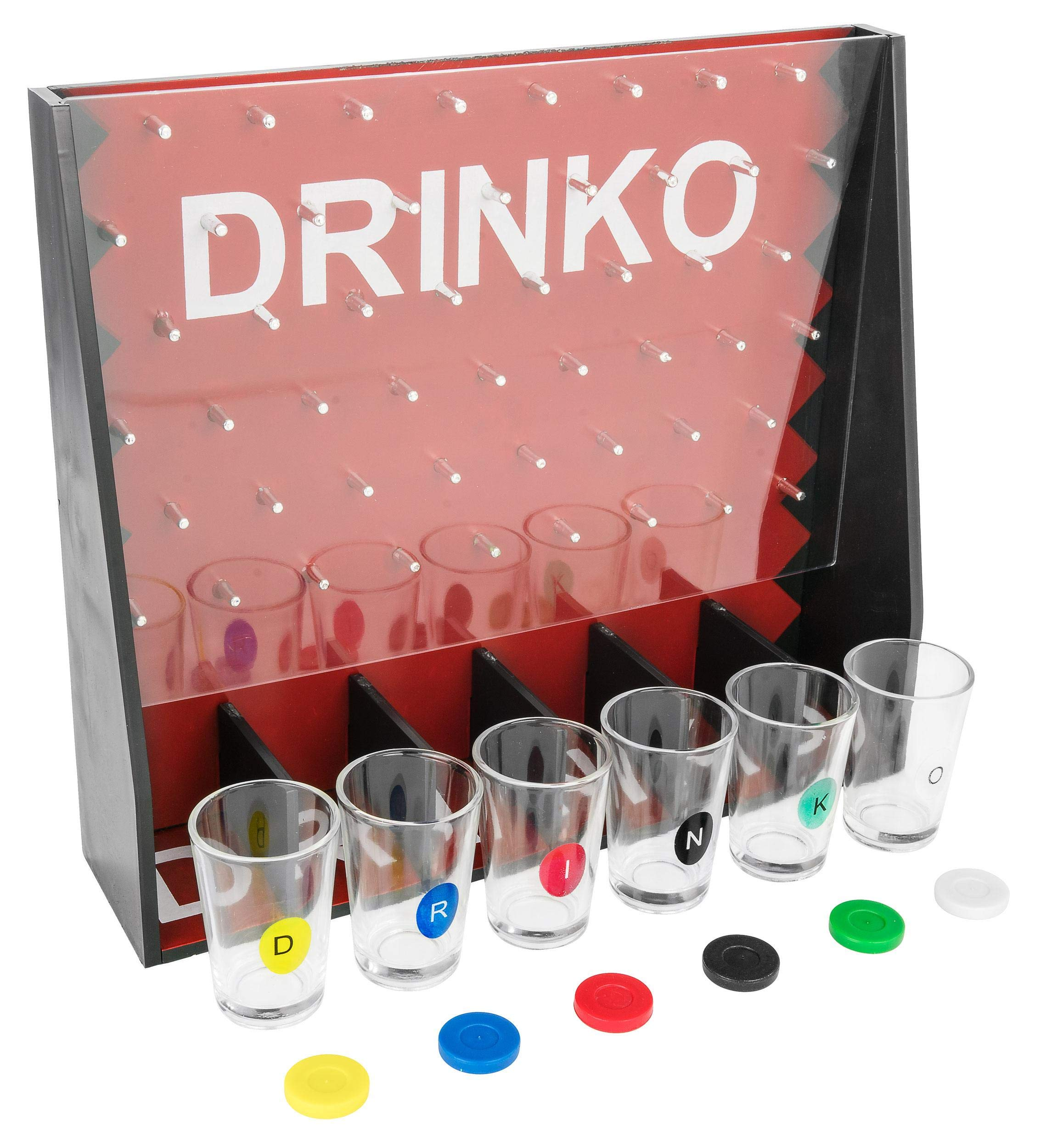 DRINKO Drinking Game - Fairly Odd Novelties - Fun Social Shot Glass Party Game for Groups / Couples by Fairly Odd Novelties (Image #3)
