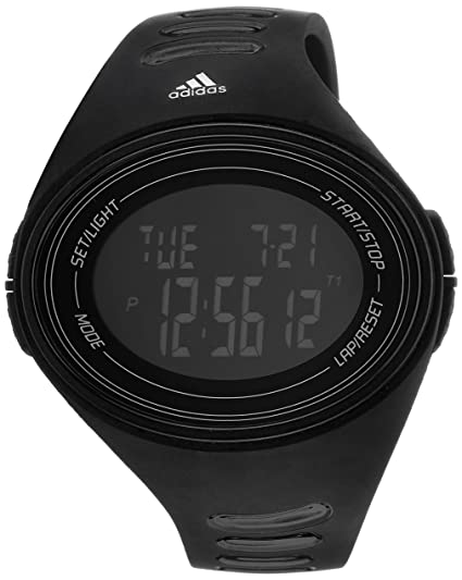 4728cd92d643 Buy adidas Adizero Ba Digital Grey Dial Unisex Watch - ADP6106 Online at  Low Prices in India - Amazon.in