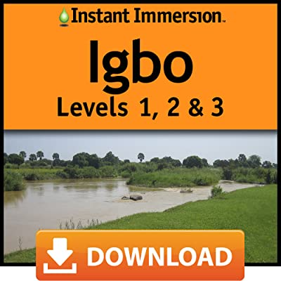 Instant Immersion Igbo Levels 1,2 & 3 [Online Code]