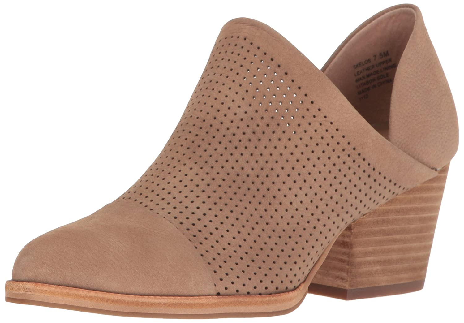 STEVEN by Steve Madden Women's Skelos Ankle Bootie B01KMVERB4 6 M US|Taupe Nubuck