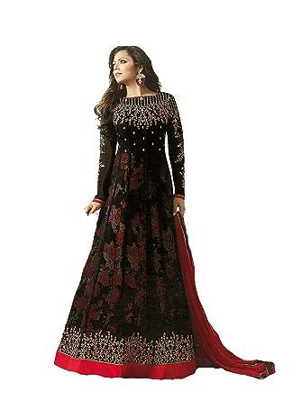 Amazon.com: ziya Designer Indian Fashion Anarkali Salwar Kameez ...