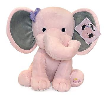 Amazon.com: Juguete de peluche de elefante para bebé, niña ...