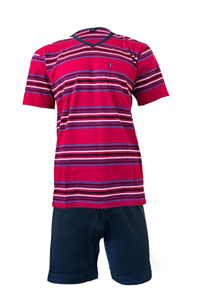 Pijama para hombre Ceceba traje rojo/negro