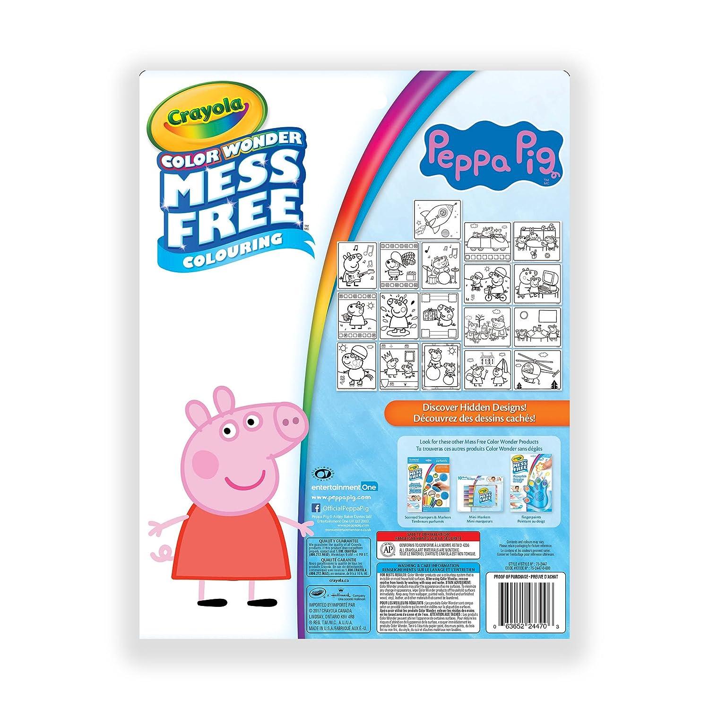 Crayola Color Wonder Kit Peppa Pig