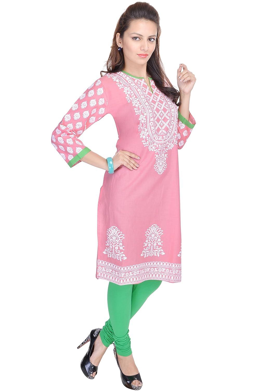 Indian Tunic Women's Long Printed Kurti