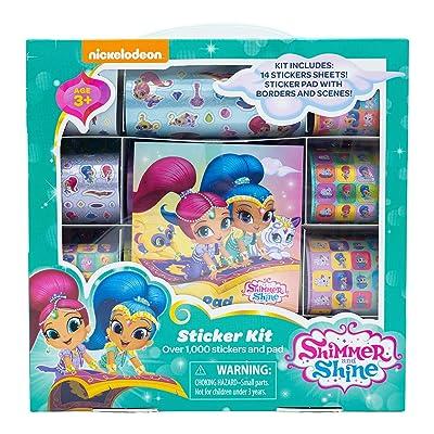 Shimmer & Shine Sticker Kits: Toys & Games [5Bkhe1107013]