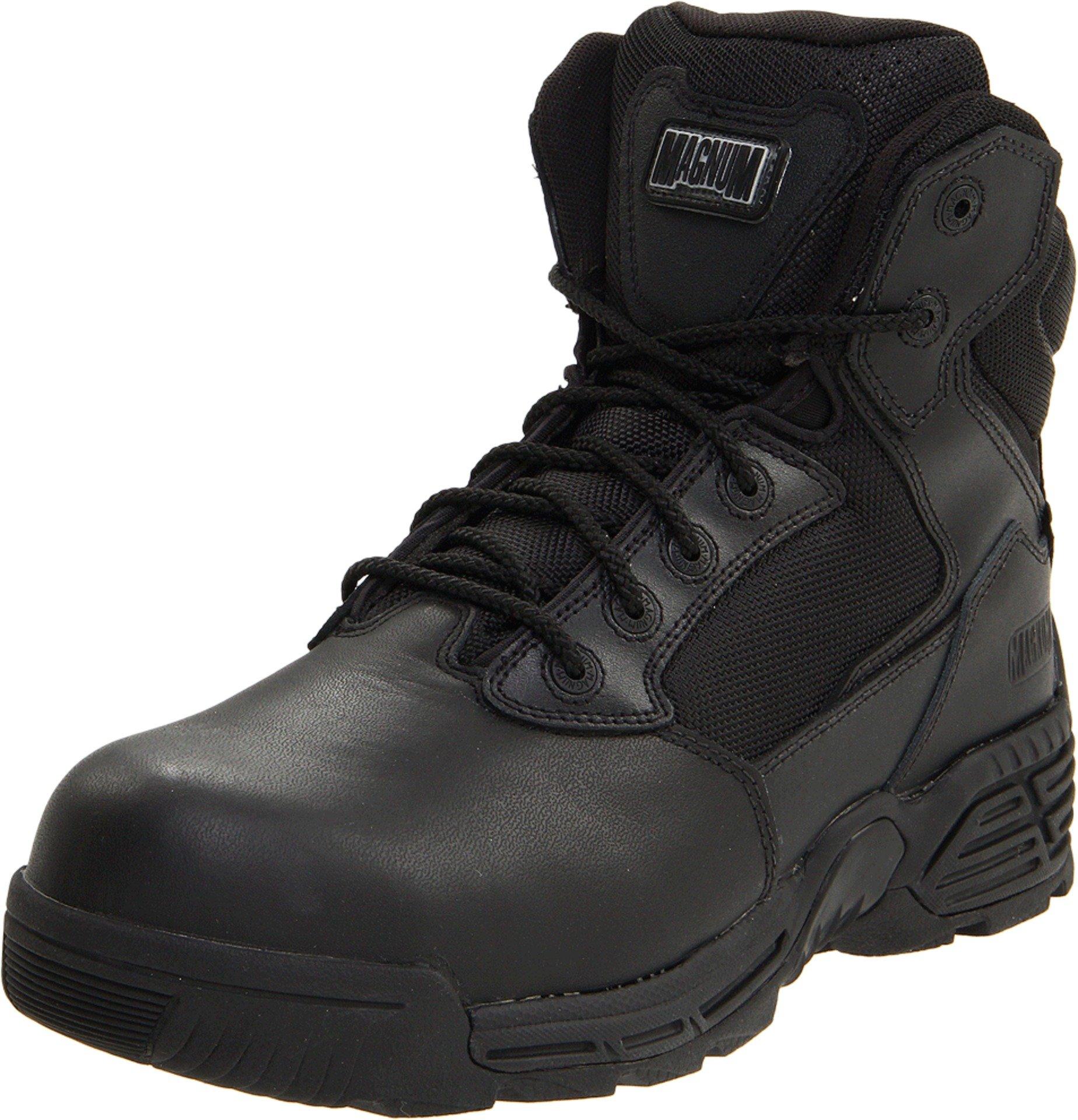 Magnum Men's Stealth Force 6.0 Sz Comp Toe Boot,Black,13 M US