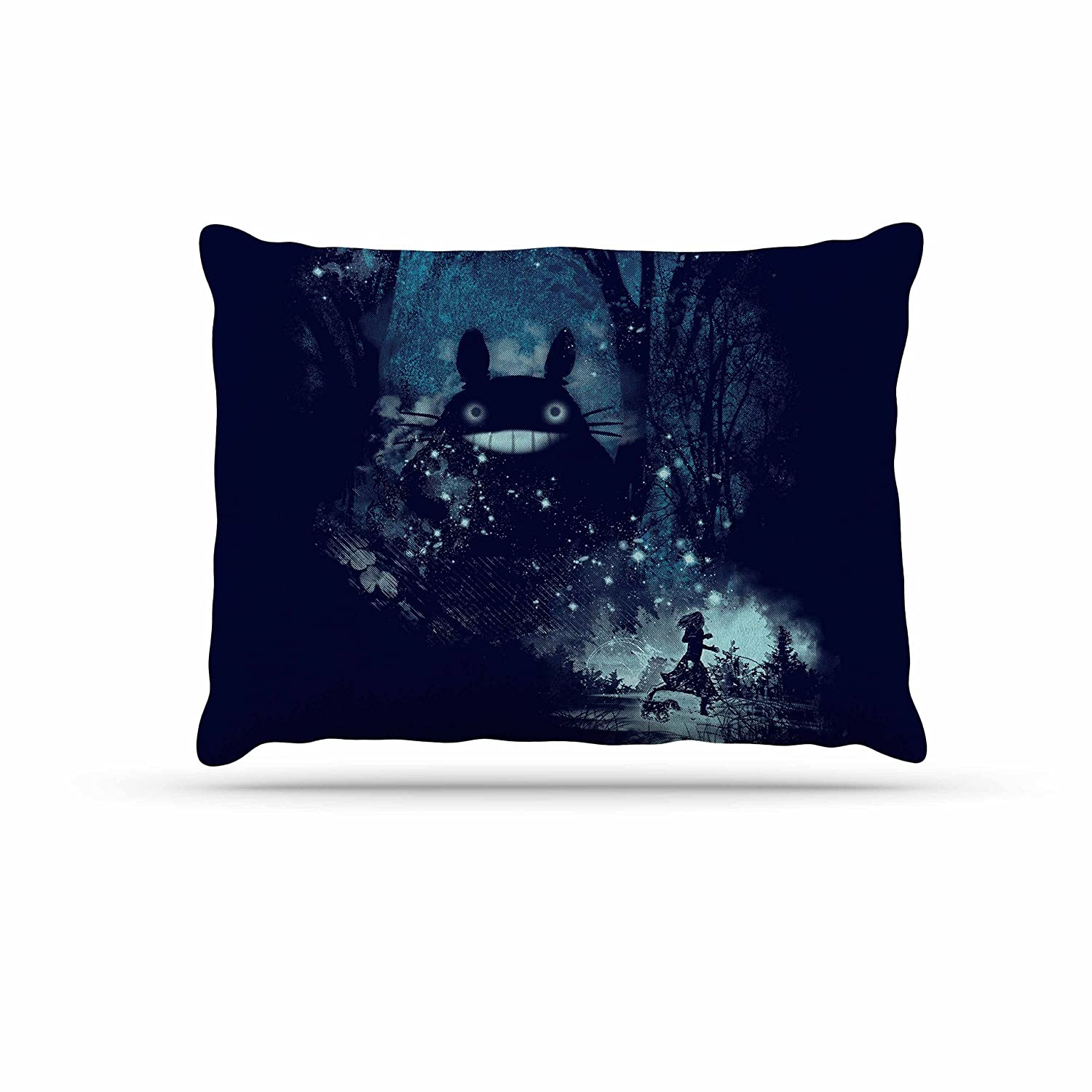 KESS InHouse Frederic LevyHadida The Big Friend Fantasy bluee Dog Bed, 30  x 40