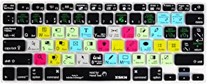 Adobe InDesign Hot Keys Keyboard Film Shortcuts Keyboard Skin Cover for MacBook Air 13 & MacBook Pro 13 15 17, Retina (US/European ISO Keyboard)