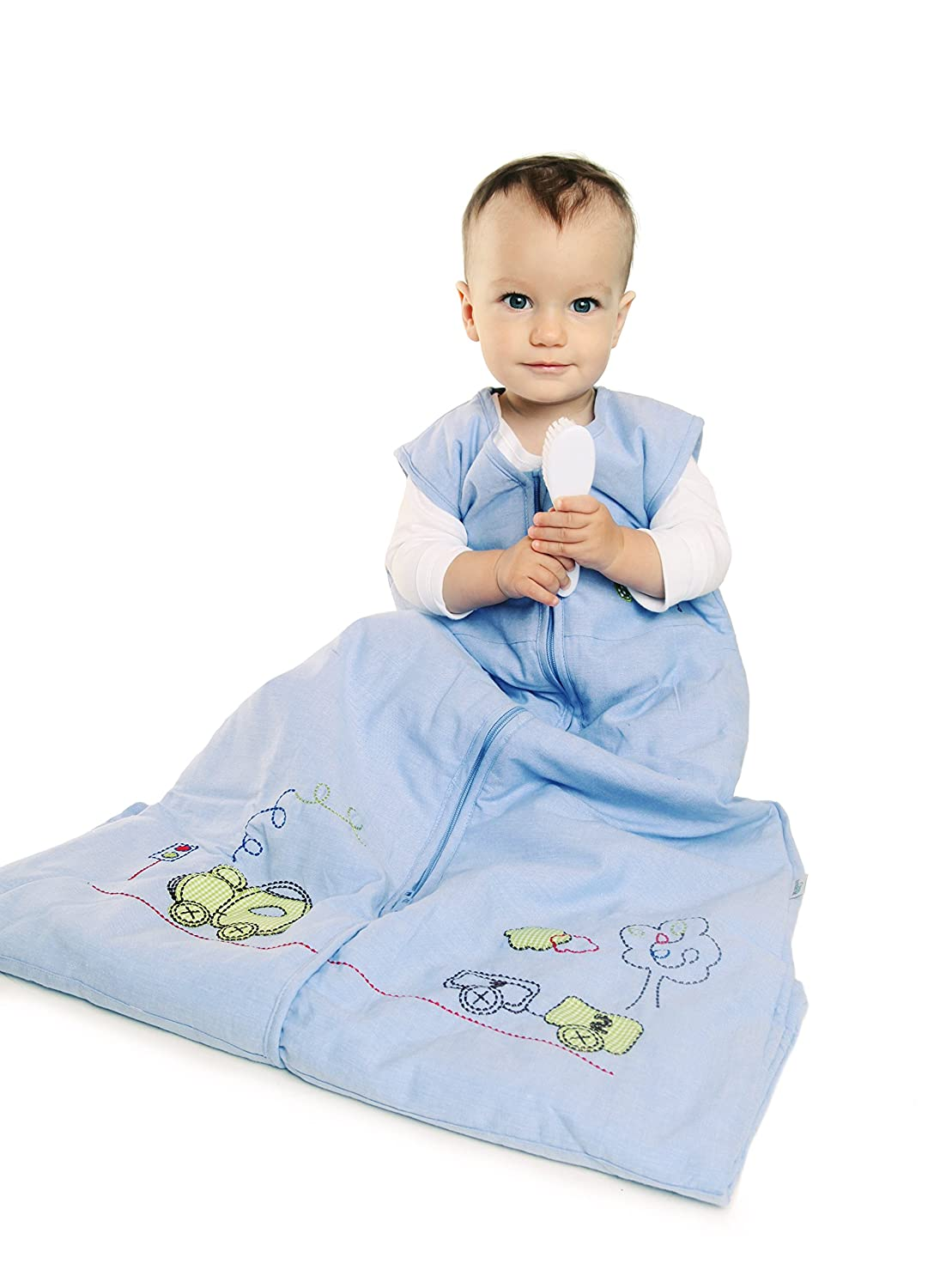 Slumbersac Toddler Summer Sleeping Bag 0.5 Tog - Train, 3-6 years: Amazon.es: Ropa y accesorios