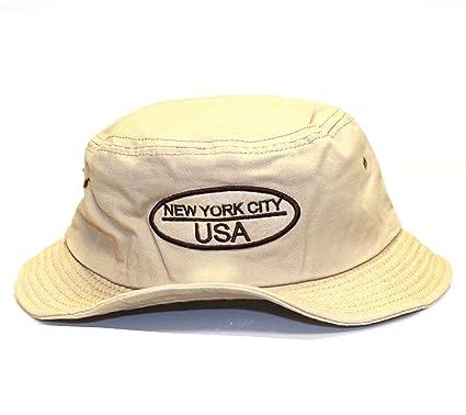 6db55b47c33 Amazon.com  City Hunter Bd1140 Cotton Design Bucket Hat - Usa Oval Felt  (Khaki - L xl Size)  Everything Else
