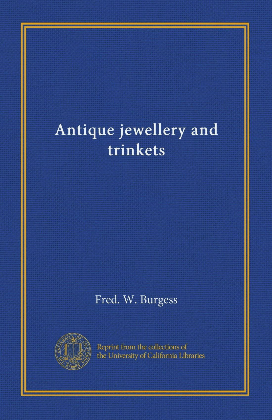 Antique jewellery and trinkets