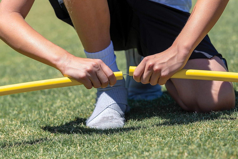 SKLZ Quickster Portable Football Training Net for Quarterback Passing Accuracy 7x7 Feet