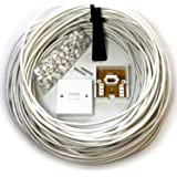 25M BT Telephone Master Socket/Box Line Extension Cable Kit - 10m 15m 20m Lead - CableFinder