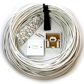 Brilliant Loops 50M Bt Telephone Master Socket Amazon Co Uk Electronics Wiring Cloud Mangdienstapotheekhoekschewaardnl