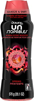 Downy Unstopables In-Wash Scent Booster Beads, Spring (20.1 Ounce)