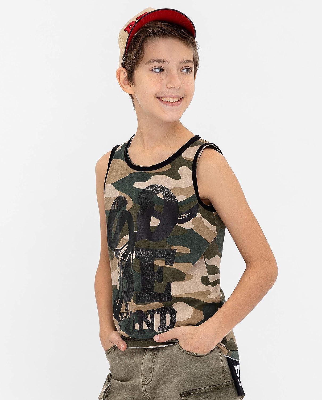 TupTam Kinder Jungen Unterhemd /Ärmellos Tanktop 5er Pack
