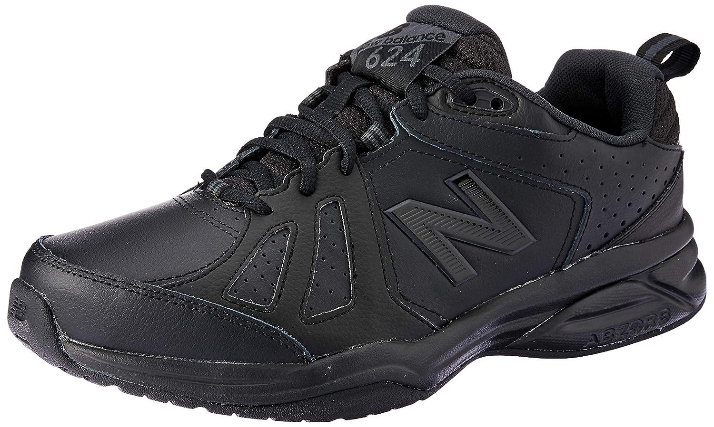 Noir (noir noir Ab5) New Balance 624v5, Chaussures de Fitness Homme 46.5 EU (Width 2E - Wide)