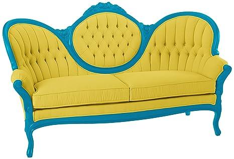 Amazon.com: polart sofá de diseños con lona Capri Tapicería ...