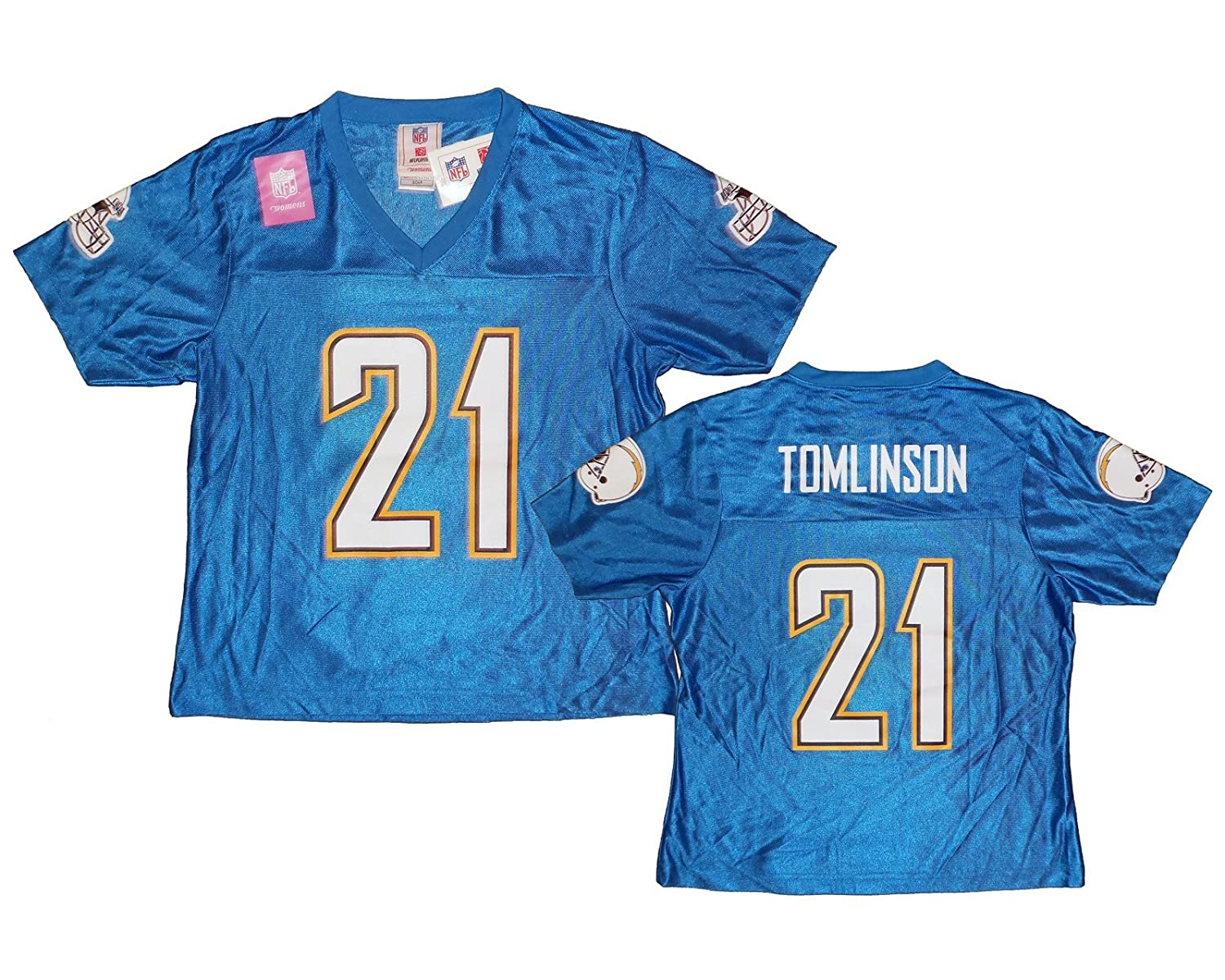 2de4f5177 Amazon.com  San Diego Chargers LaDainian Tomlinson 21 NFL Womens Fashion  Jersey