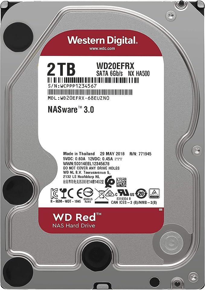 WD Digital - Disco duro para dispositivos NAS de sobremesa de 2 TB ...