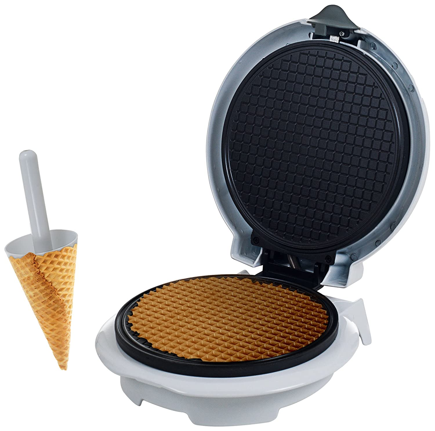 Chef Buddy 82-MM1234 Waffle Cone Maker with Cone Form Trademark GLB