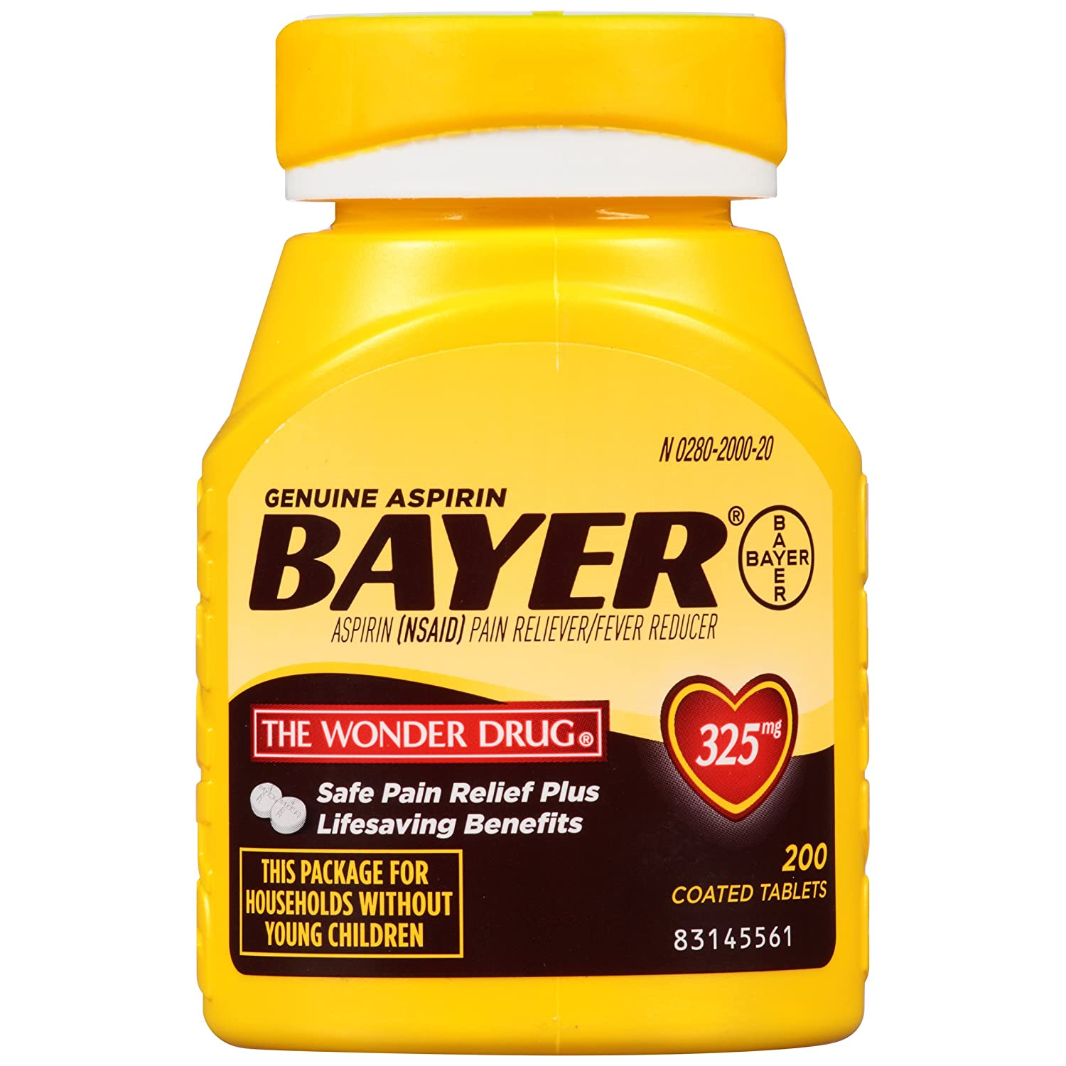 Amazon genuine bayer aspirin tablets 325 mg 200 count amazon genuine bayer aspirin tablets 325 mg 200 count prime pantry buycottarizona Image collections