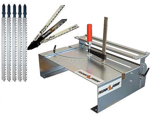 Mesa de sierra de calar 014H + 8 hojas de sierra de calar Bosch y ...