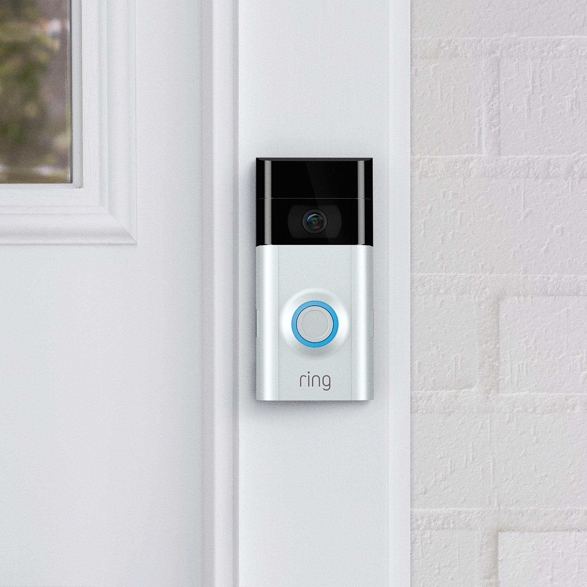 Ring Video Doorbell 2 con video HD, alertas activadas por movimiento, fácil instalación