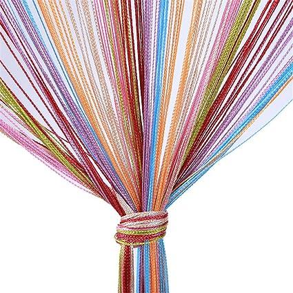Amazon Unke Decor Tassel String Curtain Patio Net Fringe Door