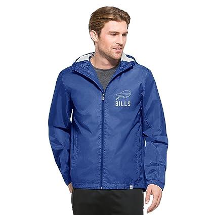 Amazon.com    47 NFL Men s React Full Zip Hooded Jacket   Sports ... d2fd0e4a7