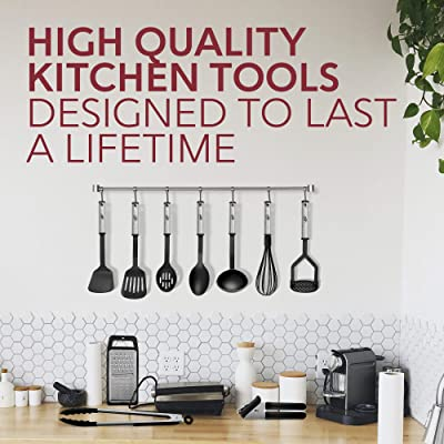 10 Style Wooden Stainless Steel Kitchen Cooking Utensil Set Serving Gadget Tools