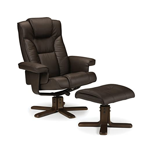 Julian Bowen Malmo Recliner and Footstool Easy Care Faux Leather - Brown  sc 1 st  Amazon UK & Julian Bowen Malmo Recliner and Footstool Easy Care Faux Leather ... islam-shia.org