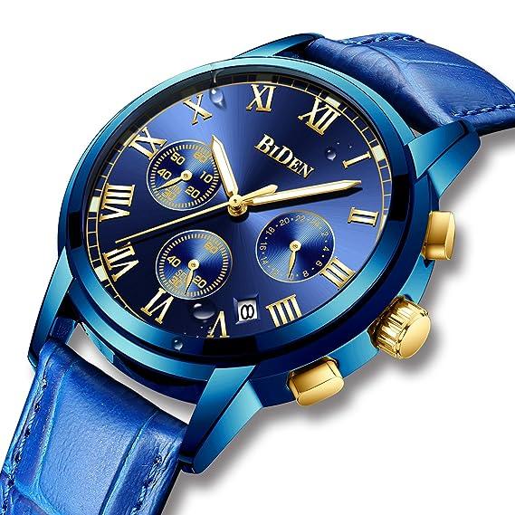 Relojes Deportivo Analógico Digital para Niño y Cronómetro Militar Dual Tiempo LED Luz Reloj de Digital para Júnior Moda Reloj de Pulsera Azul: Amazon.es: ...