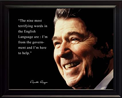 Amazoncom Wesellphotos Ronald Reagan Poster Photo Picture Framed