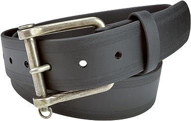 Genuine Non Leather Belt for Men, Vegan Belt with Italian