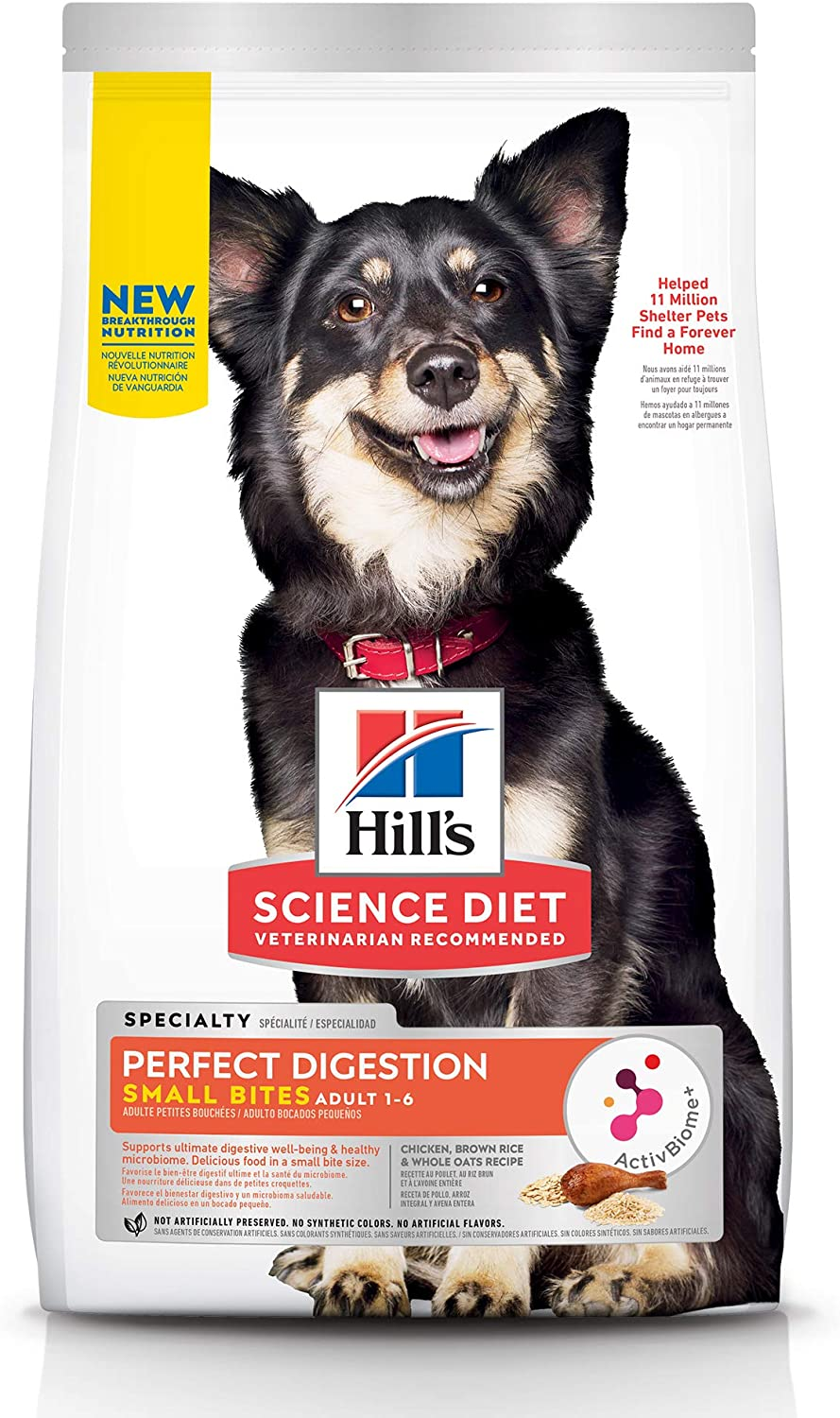 Hill's Science Diet Adult, Small Bites, Dog Dry Food Perfect Digestion