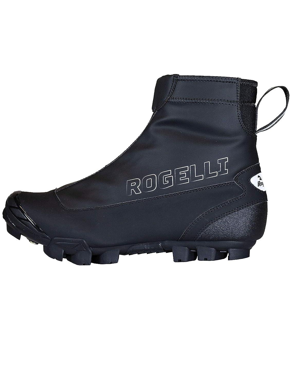 Rogelli Artic Winter Herren Fahrradschuhe MTB schwarz wasserdicht Schuhe für Radfahrer