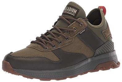 845ca6f5ab6 Amazon.com: Palladium Men's AX_EON Army Runner, BLGA/OLVNIT/Khaki ...