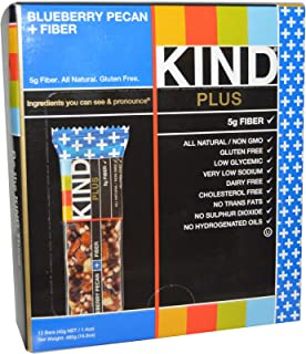 product image for KIND Bars Kind Plus, Blueberry Pecan, 12 Bars, 1.4 oz (40 g) Each
