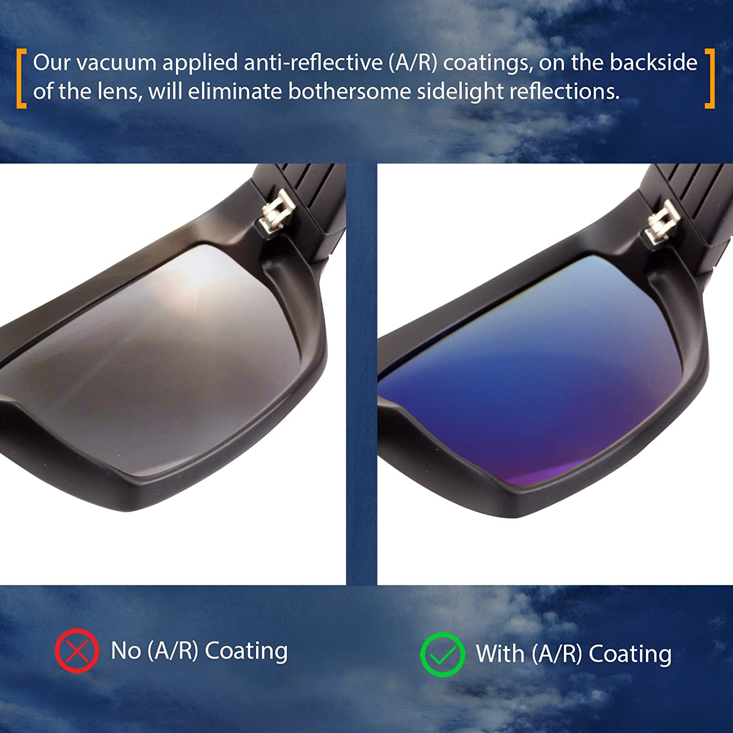 12 Colors Polarized IKON Replacement Lenses for Von Zipper Lesmore Sunglasses