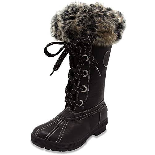 London Fog Womens Melton Cold Weather Waterproof Snow Boot  Amazon.ca   Shoes   Handbags edfea9e93