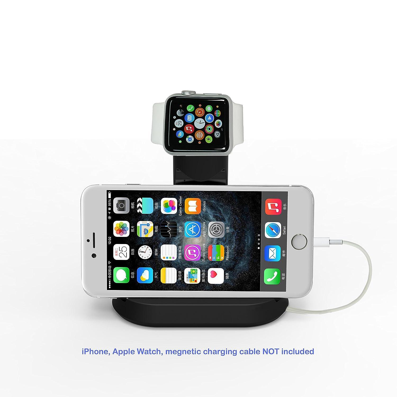 : apple iwatch, nike  , hermes guarda e iphone stand